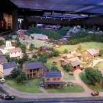 One corner of the giant miniature exhibit