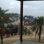 View of Juhu Beach from Room