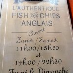 Nearby fish and chip shop!