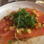 starter - salmon carpaccio