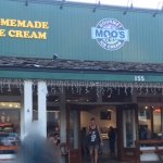 Moo's Ice Cream - chocolates are delicious even if not advertised on sign