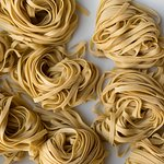 Fresh, made daily, hand rolled or extruded pasta. You'll never go back to dry.