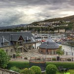 View from the main front bedroom over Mallaig Harbour.