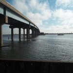 Brigantine Bridge by Harrah's Waterfront.
