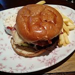 The Terrible Burger and Chips!