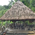 Century old native Ifugao hut with lounge area (yes, the stones are great for hanging out)