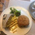 Burger tiède