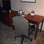 ALASKA - ANCHORAGE - WESTMARK HOTEL #3 - ROOM  - DESK & TV AREA