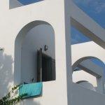A bungalow balcony