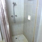 Low height (approx 1.4m) shower