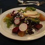 Roasted Beet Salad with Blood Orange Vinaigrette!