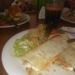 Burritas Vegetarianas y Jugo Energizante :)