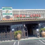 Exterior of Inka Grill restaurant in Costa Mesa, CA