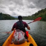setting out at the beginning of the Wailua river kayak tour