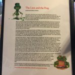 Story behind the Lucky Frog - not sure how that's German :-)