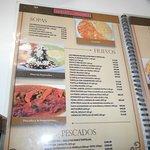 algo del menu
