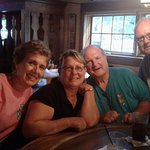Family enjoying Bayside Tavern