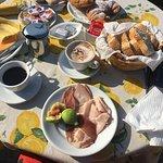 Beautiful daily breakfast!
