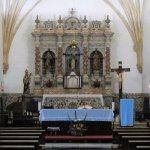 Igreja Matriz da Exaltação de Santa Cruz - altar mor