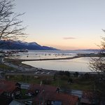 Vista desde el comedor (Bahía Encerrada)