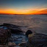 Hermit Island sunset