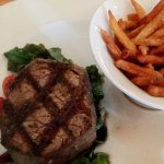 Filet Mignon and frites