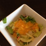 salad with house dressing