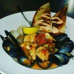 Bouillabaisse: Fresh Seafood Swimming in our Garlic Fish Broth