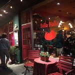 bella italia is not cheap eats
