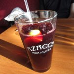 Chicha Morada (Peruvian drink made of purple corn, fruit and spices. Fun and tasty.