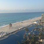 Beautiful beach and hotel