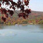 Fall and the lake