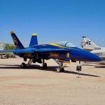 US Navy Blue Angels F-18 Hornet