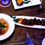 Calamari and Sausage - YUM