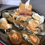 Baked Apalachicola oysters- excellent!
