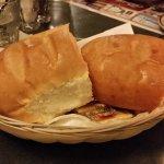 Fresh baked soft dinner buns