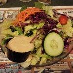Fresh house salad