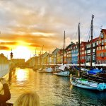 Only 2 blocks away to famous Nyhavn for great sunsets, outdoor dining, and people and boat watch