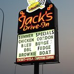JAcks Driving sign in August