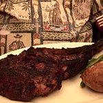 Wow lau, lau that's some big Akashi Tomahawk Steak!