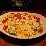 Outback Steak House, S. Broadway, Rochester, MN. Cobb salad