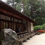 Longhouse in Japanese Garden