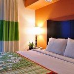 Executive King Suite Sleeping Area