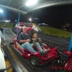 Night racing!