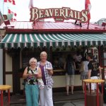 Enjoying Beaver Tails