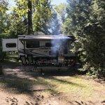 Sample camp site