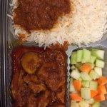 Chicken Masala dinner box from Bombay Dreams TO GO