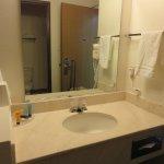 Sink/vanity area separate from tub/toilet room