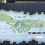 The map of Pulau Isle