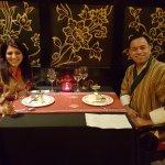 Dinner at Chig Ja Gye Bhutanese restaurant